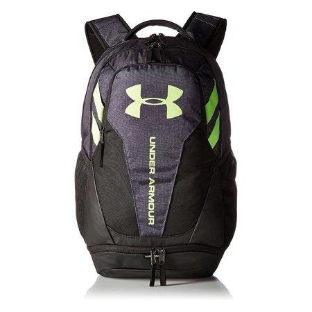 Under Armour - Hustle 3.0 Backpack Stealth Gray Black Quirky Lime -  Walmart.com 086f62e8a5