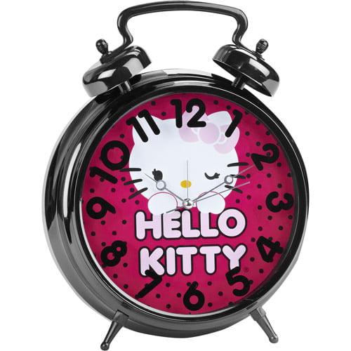Hello Kitty Jumbo Twin Bell Alarm Clock