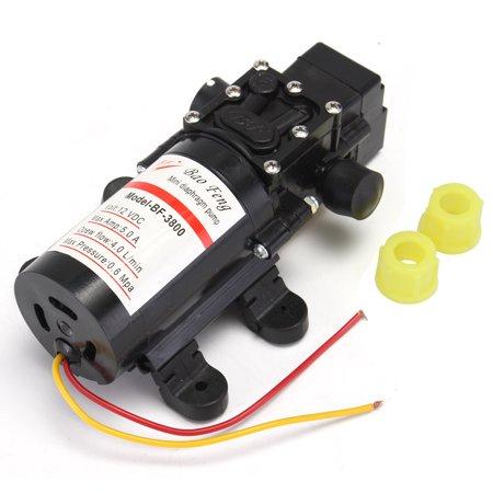 Dc 12V 4L Min Diaphragm Water Self Priming Pump High Pressure Car Boat 100Psi
