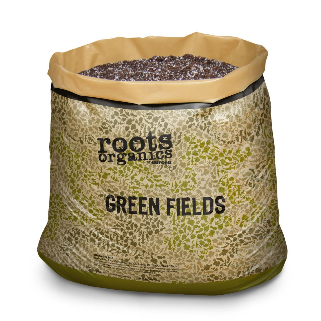 Roots Organics ROGF Hydroponics Green Fields Gardening Potting Soil, 1.5 cu ft