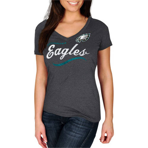 NFL Philadelphia Eagles Women's V-Neck Tee