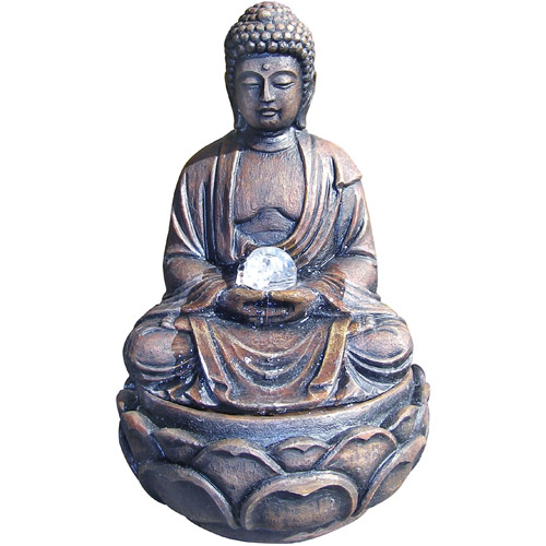 ORE International Buddha Fountain with Crystal