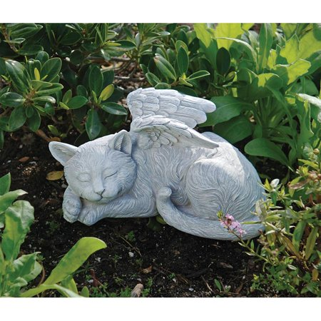 Design Toscano Cat Memorial Angel Pet Statue