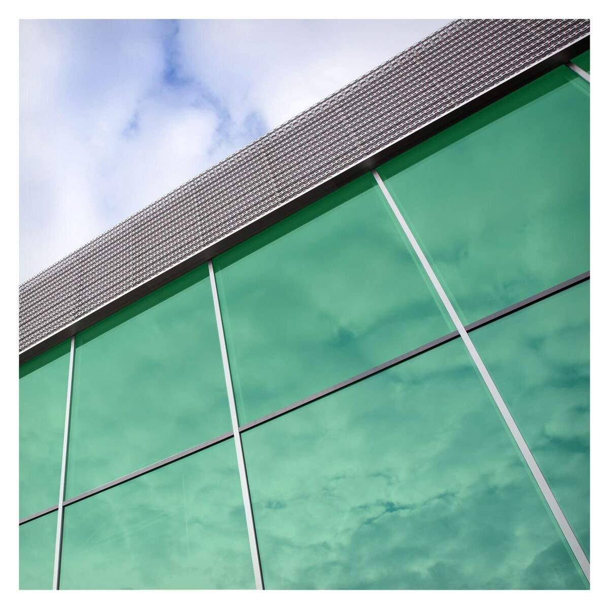 BDF CAGN Transparent Color Green Window Film 36in x 7ft by BuyDecorativeFilm