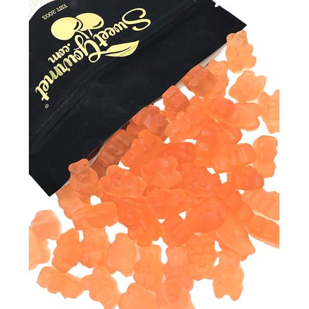 Pink Gummy Bears (SweetGourmet Gummy Candy | Tropical Pink Grapefruit Gummi Bears | 2)