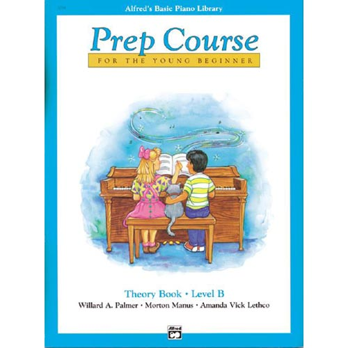 Alfred's Basic Piano Library: Prep Course Theory Book Level B