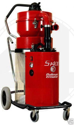 Ermator S1400 HEPA Heavy Duty Dust Collector Vac 4 Concrete Grinder Pro Vac by Ermator