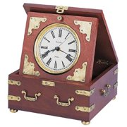 Edinbridge Antiqued Desktop Clock by Bulova
