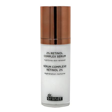 Dr. Brandt 2% Retinol Complex Serum Nighttime Skin Renewal 1 Ounce