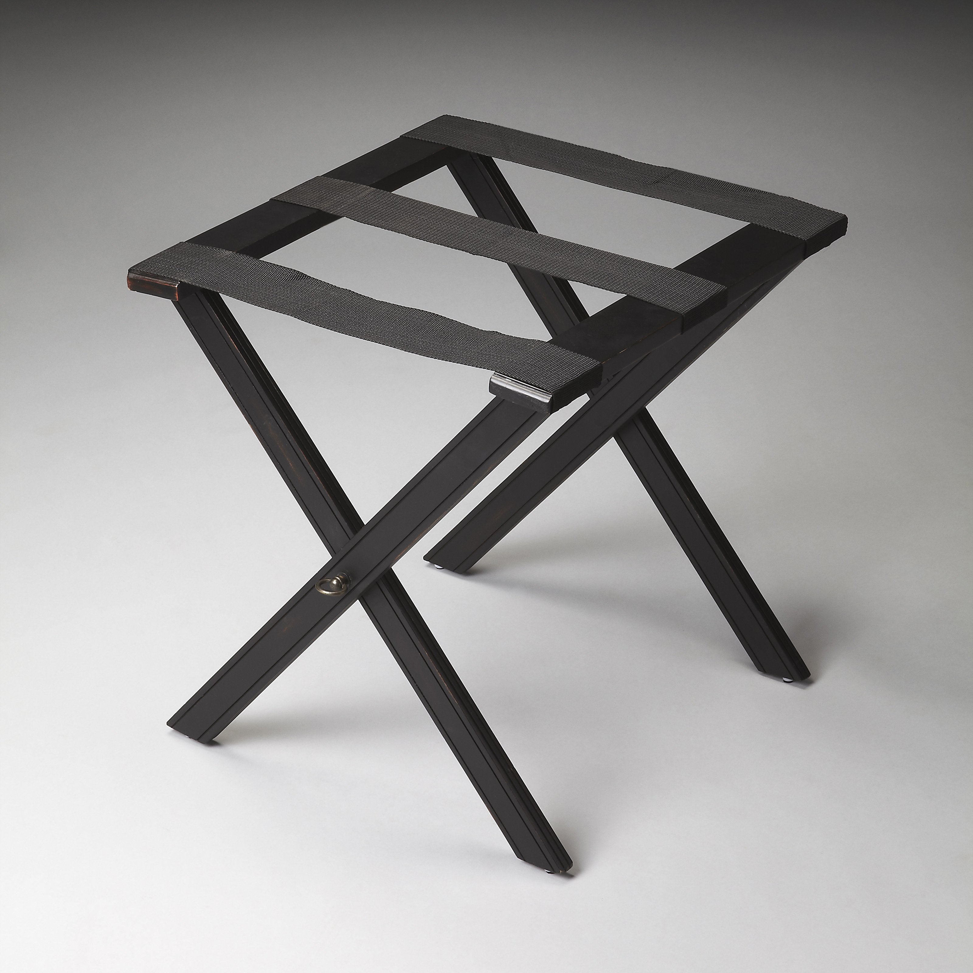 Butler Black Licorice Luggage Rack