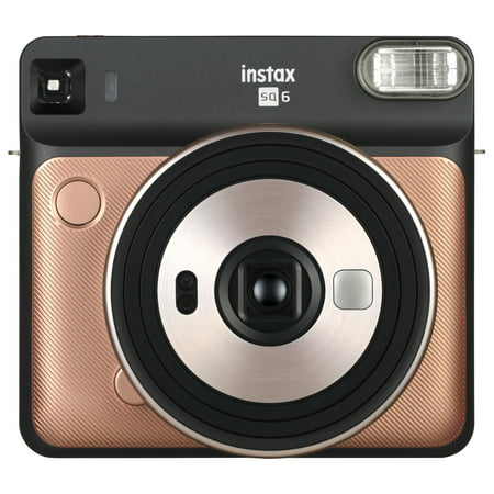 Fujifilm Instax Square SQ6 - Instant Film Camera - Blush Gold