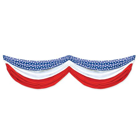Stars and Stripes Fabric Bunting (Halloween Bunting Uk)