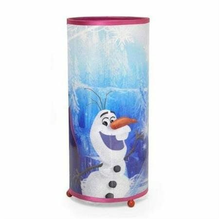 Frozen Elsa & Anna Cylinder Glitter Lamp Night Light