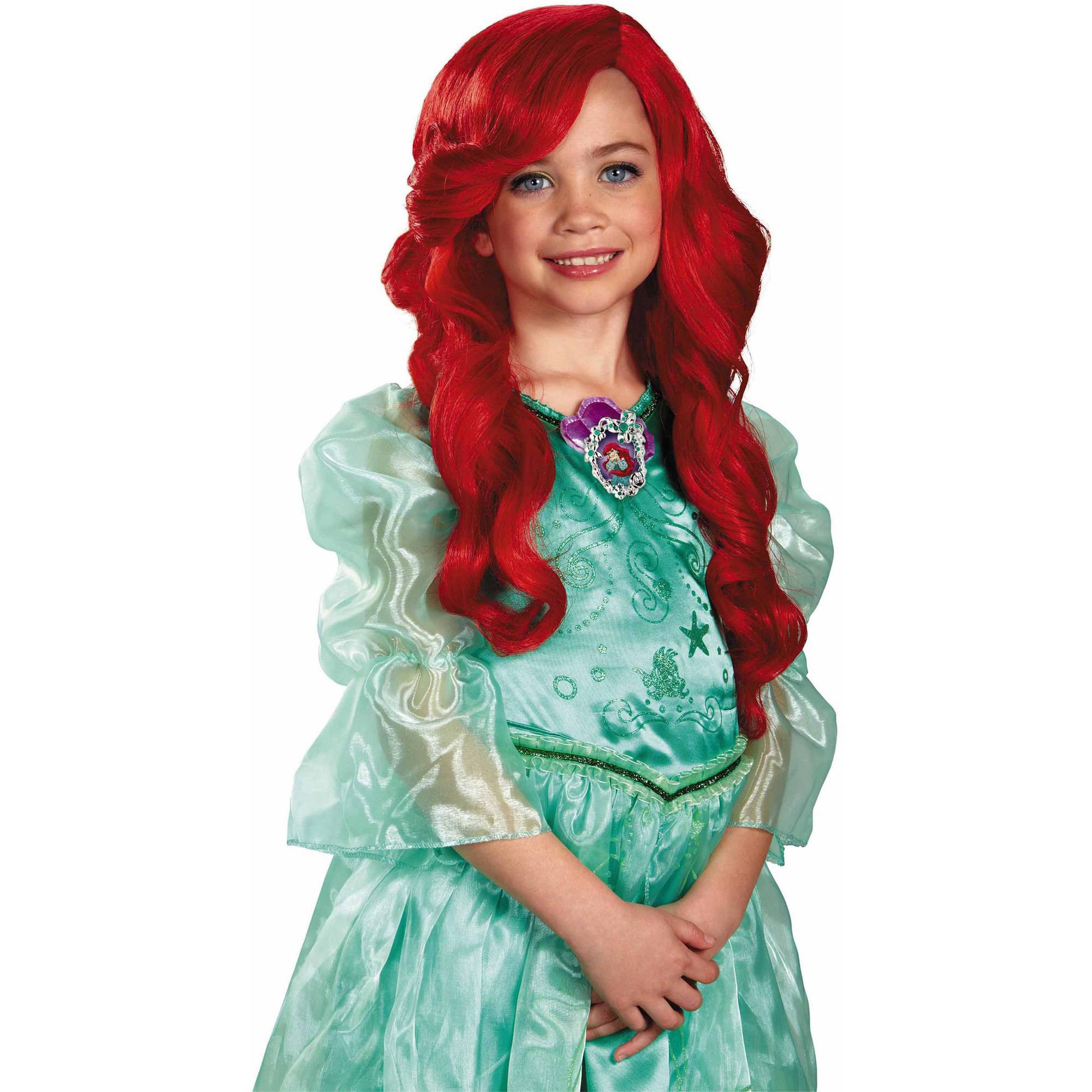 the little mermaid ariel child wig halloween accessory - Red Wigs For Halloween