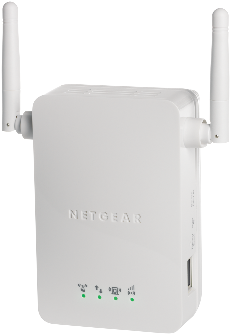 NETGEAR N300 WiFi Range Extender, Wall-Plug, 1-port Fast Ethernet (WN3000RP) by NETGEAR