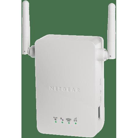 NETGEAR N300 WiFi Range Extender, Wall-Plug, 1-port Fast Ethernet (WN3000RP)