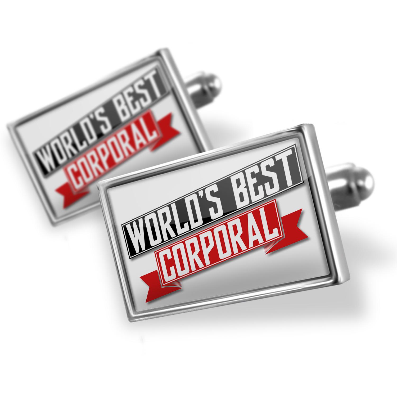 Cufflinks Worlds Best Corporal - NEONBLOND