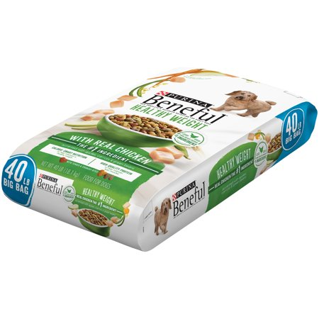 Purina Beneful poids sain avec la vraie nourriture de poulet pour chiens 40lb.