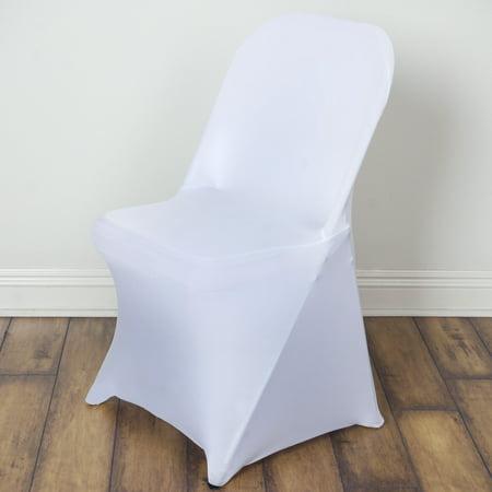 Balsacircle Spandex Strechable Folding Chair Covers