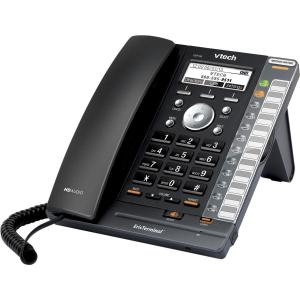 VTech ErisTerminal VSP726 IP Phone Wireless DECT 6.0 Desktop VoIP Caller ID Speaker Phone 2 x Network (RJ-45) PoE Ports... by