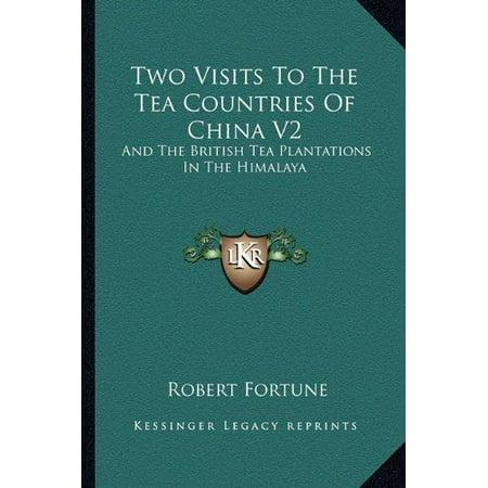 Deux visites dans les pays de thé de la Chine V2: Et les plantations de thé britannique dans l'Himalaya