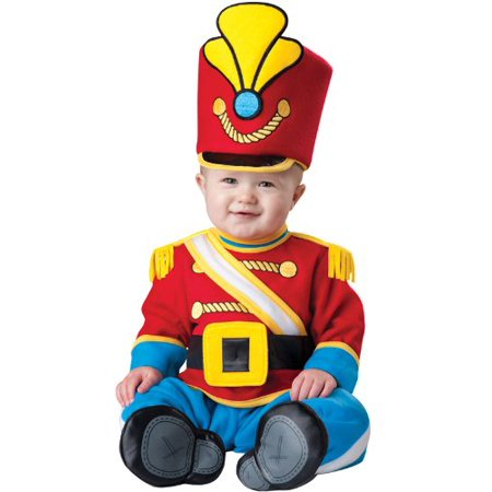 Tiny Toy Soldier Infant/Toddler Costume Red/Blue - image 1 of 1