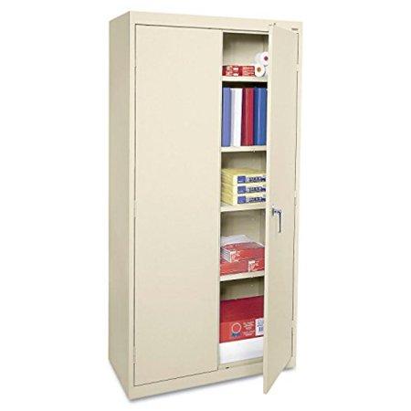 Alera CME7218PY Economy Assembled Storage Cabinet, 36w x 18d x 72h, Putty