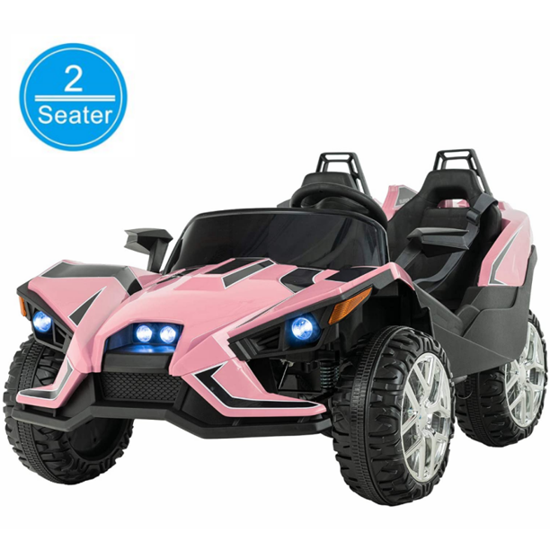 Uenjoy Kids Ride On Cars 12v Electric Motorized Vehicles Large Truck With Remote Control 2 Speed Pink Walmart Com Walmart Com