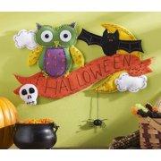 Bucilla Halloween Wall Hanging Felt Kit