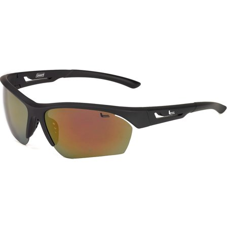 Wing Master, Black with Tips/1.1 mm Red Mirror (1.1 Mm Polarized Lens)