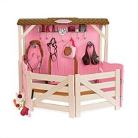 Our Generation Horse Barn Stable and Accessories Set for 18-Inch Dolls