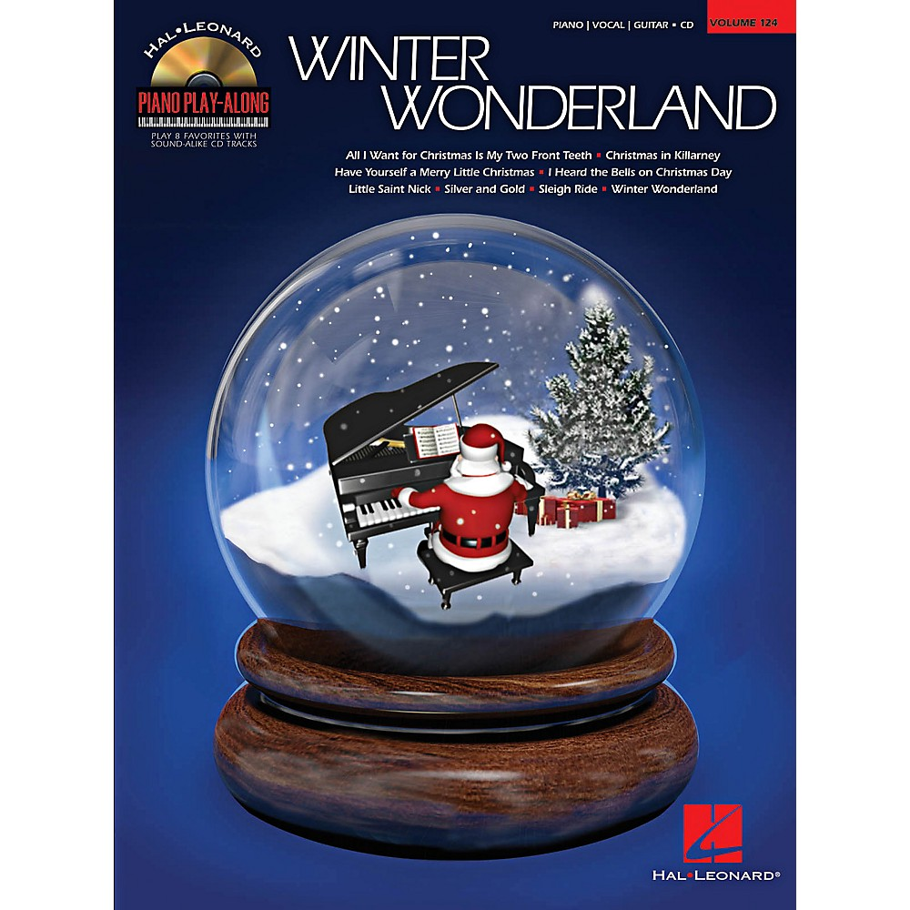 Hal Leonard Winter Wonderland Piano Play-Along Volume 124 Book/CD
