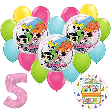 Powerpuff Girls 5th Birthday Party Balloon Supplies and Decorations](Girls Party Supplies)