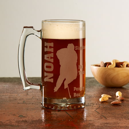 Personalized Sports Fan 25oz Beer Mug, - Personalized Beer