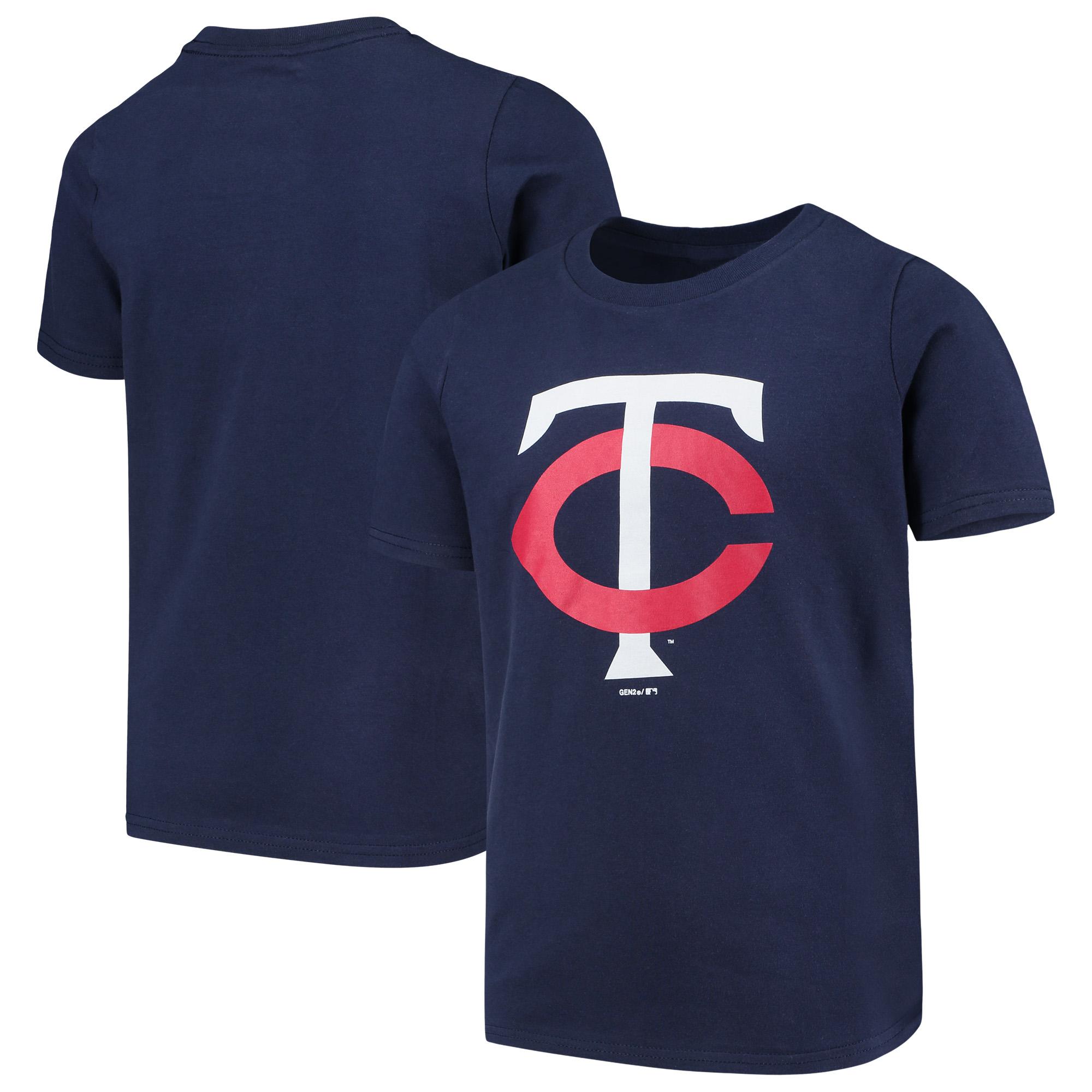 Minnesota Twins Youth Primary Team Logo T-Shirt - Navy