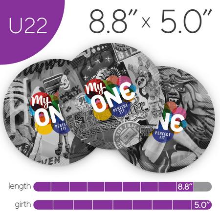 MyONE Condoms Size U22, 12-Count