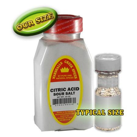 Marshalls Creek Spices Sour Salt  Citric Acid