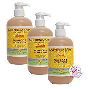 California Baby Calendula Shampoo & Bodywash, 19 Ounce 3 Pack by California Baby