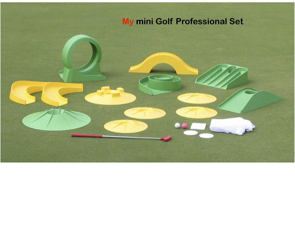 Miniature Golf Set (Back 9 Set) by Starting Time