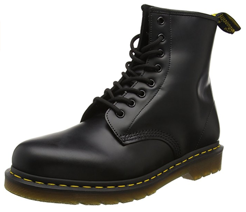 Dr. Martens 1460 Smooth 8-Eye Boots 11822006 Black by Dr. Martens