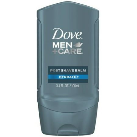 Dove Men+Care Post Shave Balm, Hydrate 3.40 oz (Harrys Mens Post Shave Balm 3-4 Oz)