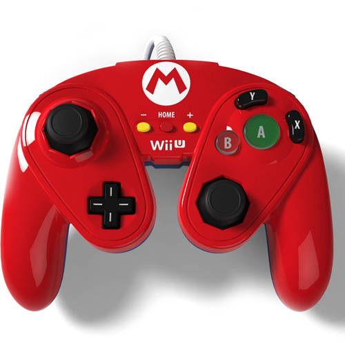 Nintendo 085-006-MA Wired Controller, Mario (Wii U) by PDP