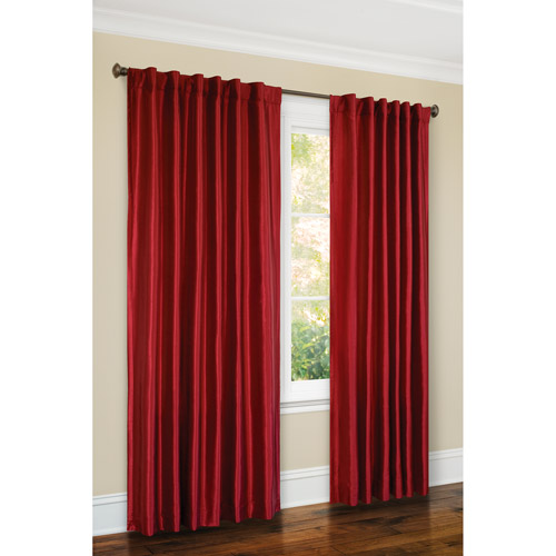 Canopy Faux-Silk Thermal Interlined Curtain Panel, 54x84