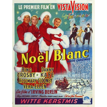 White Christmas 1954.White Christmas 1954 27x40 Movie Poster Belgian