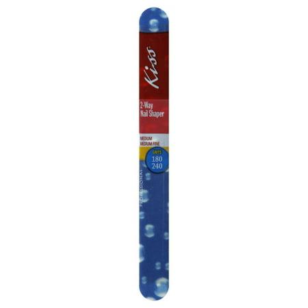 Kiss Products Kiss  2-Way Nail Shaper, 1 ea