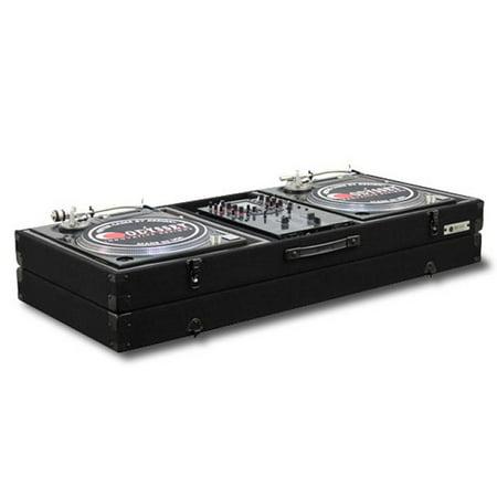 Odyssey CBM10E Economy Battle Mode Pro DJ Turntable Mixer Coffin Case - Black