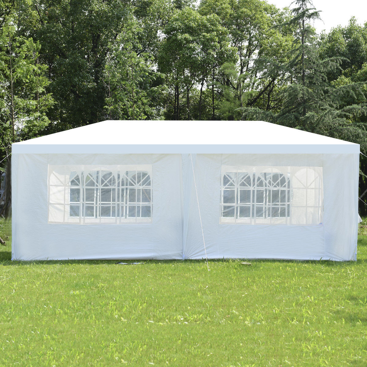 Wedding Tent Canopy Party 10'x20' Heavy Duty Gazebo Cater Event W/ Side Walls - image 2 of 10