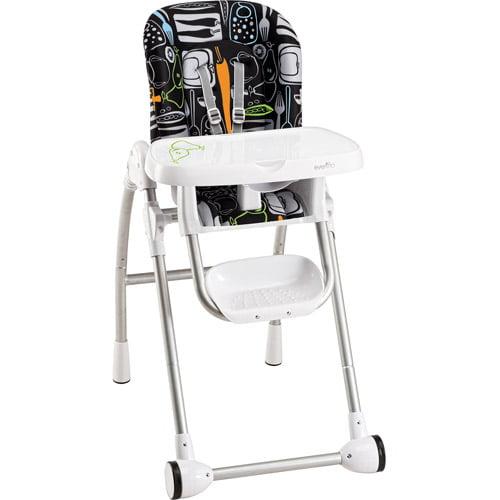Evenflo Modern High Chair Crayon Scribbles