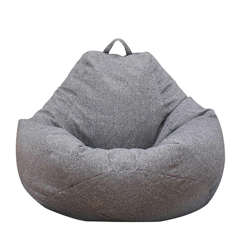 ODOMY Bean Bag Sofa Chairs Cover Classic Lazy Lounger Bean ...