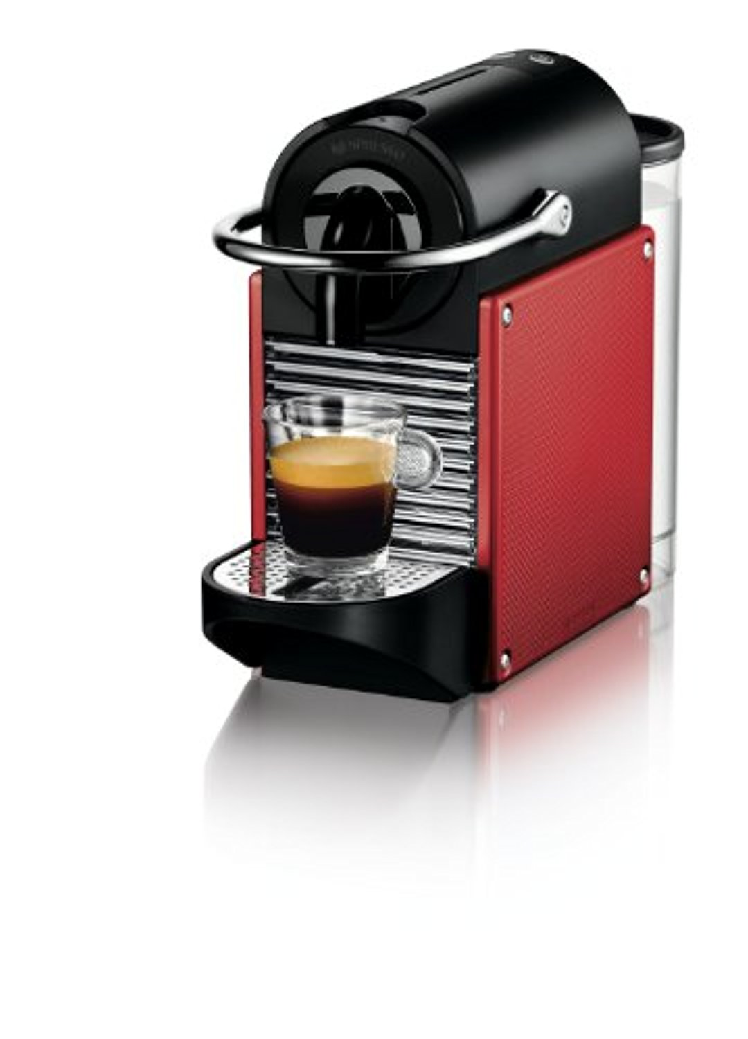 Click here to buy Nespresso Pixie D60 Espresso Machines, Brick Red by Nespresso.